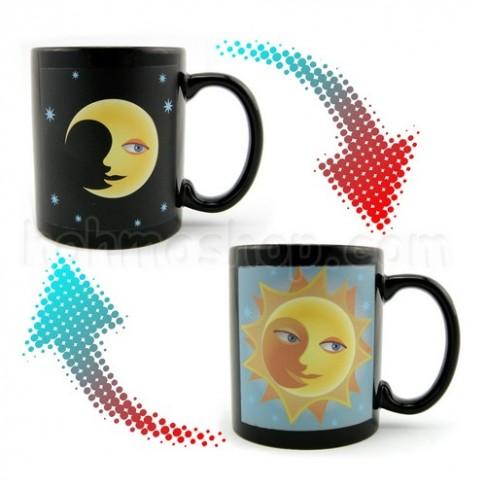 Горнятко-хамелеон Сонце і Місяць