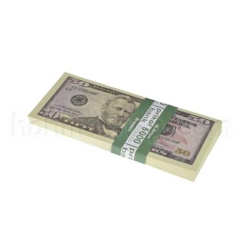 Гроші сувенірні, 50 доларів