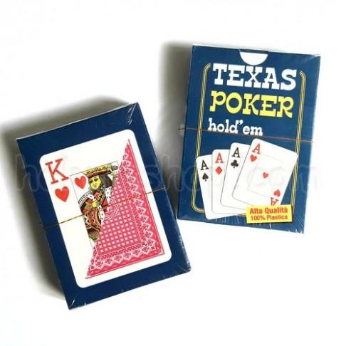 Карти гральні Texas Holdem, пластикові